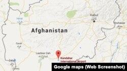 Bandara Kandahar, Kandahar, Afghanistan.