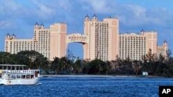Kepulauan Bahama terkenal dengan industri pariwisata yang sensitif terhadap kerusakan lingkungan (foto: dok).
