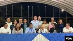 La Alianza Cívica por la Justicia y la Democracia (ACJD) de Nicaragua regresaría a la mesa de negociación, si el ejecutivo muestra voluntad política.