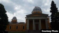 Фасад главной Пулковской астрономической обсерватории