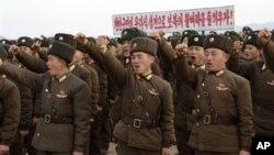Binh sĩ Bắc Triều Tiên thề sẽ trả đũa bất kỳ hành động quân sự của Hàn Quốc.