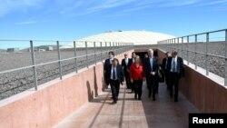 Lokasi di gurun Atacama, Chile di mana terdapat teleskop terbesar di dunia (foto: ilustrasi).