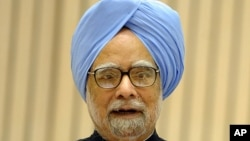 India Prime Minister Manmohan Singh (January 10, 2012 / AFP).