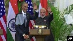 Američki predsednik i premijer Indije
