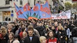 آغاز دور جديدی از اعتراضات اتحاديه های کارگری فرانسه عليه مصوبه جديد بازنشستگی