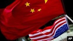 中国美国国旗