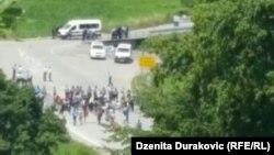 Migranti na granici kod Velike Kladuše