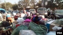 Zimbabwe Youths in Francistown, Botswana