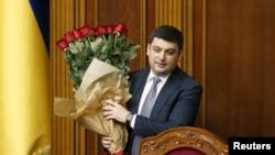 Ukrayanın baş naziri Volodimir Qroysman