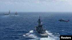 Các lực lượng hải quân Hoa Kỳ và Nhật đang tiến hành cuộc diễn tập song phương hàng năm.