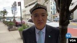 Yadigar Ganiyev, Sharqiy Turkistonning quvg'indagi hukumati a'zosi