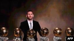 Lionel Messiya lashe Ballon d'Or sau 6