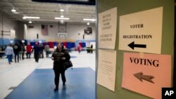 Glasanje na izborima u Nju Hempširu