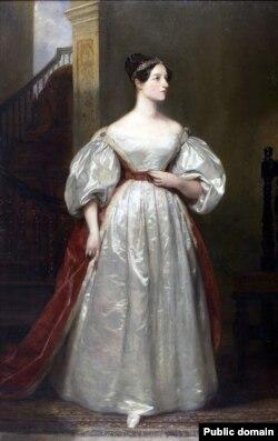 پرتره ای از ایدا کنتس لاولیس از مارگارت سارا کارپنتر، نقاش بریتانیایی- سال ۱۸۳۶