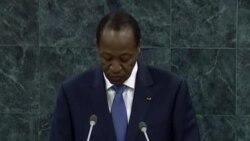 Allocution du President Blaise Compaore du Burkina Faso