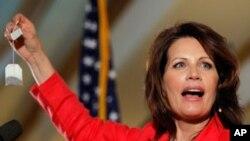 Conservadora Michele Bachmann candidata-se contra Obama