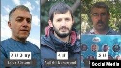 Saleh Rüstəmov, Aqil Məhərrəmov və Babək Həsənov