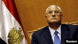 Adly Mansour, president sementara Mesir telah menetapkan jadwal penyelenggaraan pemilu parlemen Mesir, awal tahun depan (Foto: dok).
