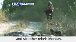 VOA60 World- Russia: Federal security forces kills six suspected Islamic State militants in North Caucasus- August 3, 2015