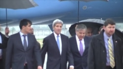 Kerry Reaffirms Security Pledge in Tajikistan