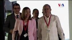 Llegada de las delegaciones