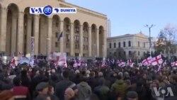 VOA60 Duniya: Dubban Jama'a Sun Yi Zanga-zangar Kin Amince Da Zaben Fidda Gwanin Shugaban Kasa Da Aka Yi Jiya Lahadi A Tbilisi Dake Georgia