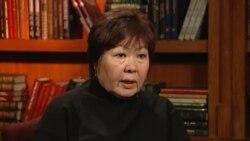 """Экс-посол Кыргызстана в США Замира Сыдыкова дала интервью """"Голосу Америки"""""""