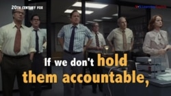 Học tiếng Anh qua phim ảnh: Hold them accountable - Phim The Post (VOA)