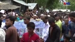 Arakanlı Müslümanlar'dan Sürgünün Yıldönümünde Protesto Eylemi
