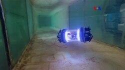 Robot explora derrames nucleares