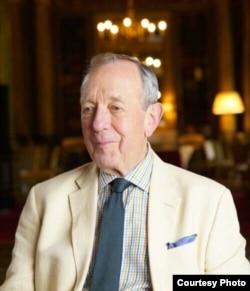Former British diplomat Roger Garside. (Olivia Furtwängler)