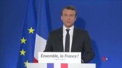 2017-05-08 美國之音視頻新聞:馬克龍當選法國總統 (粵語)