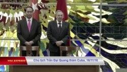 Việt Nam viện trợ Cuba khắc phục hậu quả bão Irma