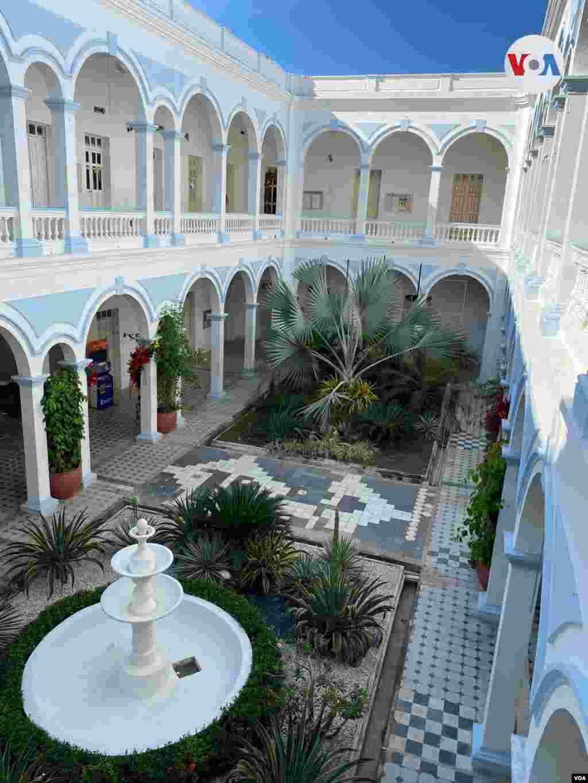 Palacio municipal en Ciénaga, Magdalena, Colombia.
