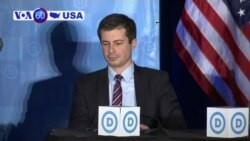 VOA60 America - Democratic Mayor Pete Buttigieg Joins 2020 Presidential Race
