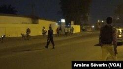 Couvre-feu à Brazzaville dès 20 heures, ici hôpital Makelekele, le 21 septembre 2020. (VOA/Arsène Séverin).