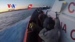 ایتالیا هزاران پناهجوی سرگردان در آبهای مدیترانه را نجات داد