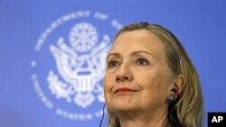 16일 브라질을 방문한 힐러리 클린턴 미 국무장관.