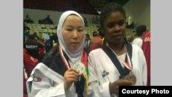 ذکیه در رقابت های پاراتکواندوی مصر به نایب قهرمانی دست یافت.