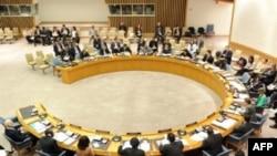 Hội đồng Bảo an Liên Hiệp Quốc họp về Libya tại trụ sở Liên Hiệp Quốc ở New York, 17/3/2011