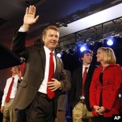 Le sénateur républicain Rand Paul, un des nouveaux législateurs américains