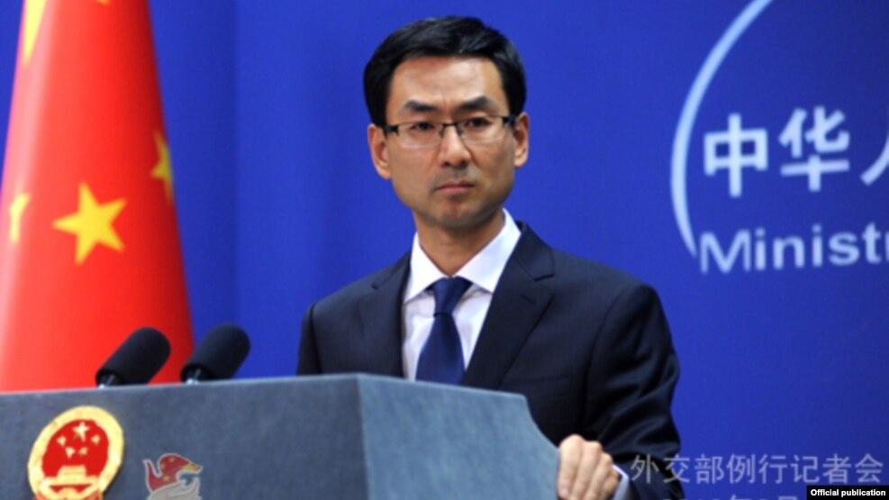 Phát ngôn viên Bộ Ngoại giao Trung Quốc Cảnh Sảng.