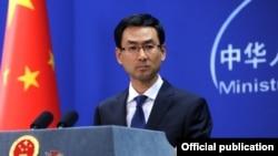 겅솽 중국 외교부 대변인. (자료사진)