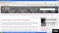 Блогот на Гералд Кнаус