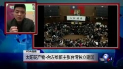 VOA连线(吳濬彥):太阳花产物-台左维新主张台湾独立建国