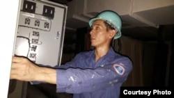 中国工人张桂林(张桂林提供)