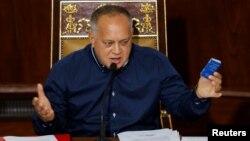 دیوسدادو کابِلو، رهبر حزب سوسیالیست ونزوئلا و از متحدان مادورو