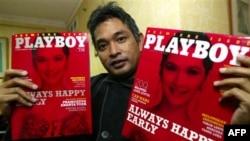 Ông Erwin Arnada cựu chủ biên tạp chí Playboy Indonesia