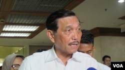 Menteri Koordinator Bidang Kemaritiman Luhut Binsar Pandjaitan (Foto: dok).