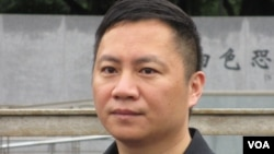 六四學運領袖王丹。(資料照片)